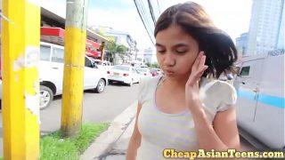 filipina batang babae ng pera para enjoying kasarian