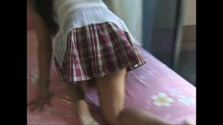 sexy college dildo paglalaro ng batang babae